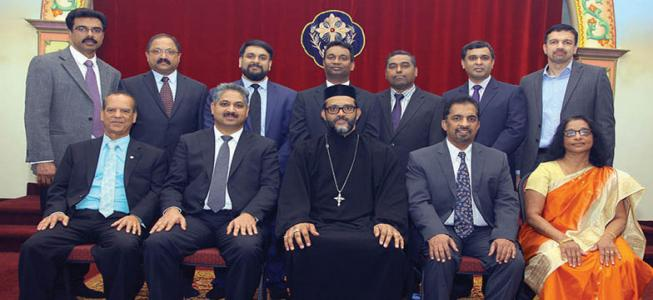 new office bearers for  St. Gregorios Orthodox Church