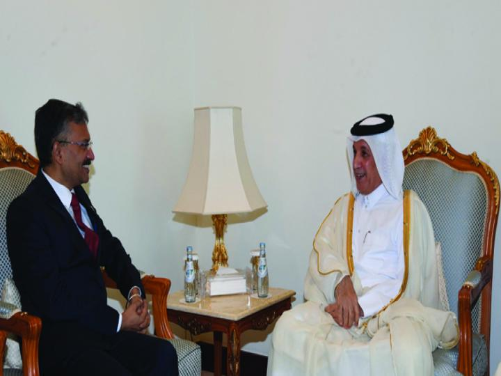 Dr. Deepak Mittal is the Indian Ambassador to Qatar