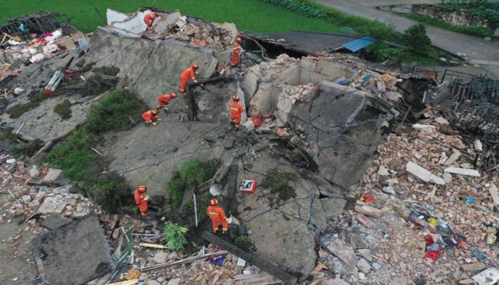 china earth quake