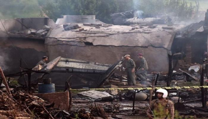 pak miltary flight crash
