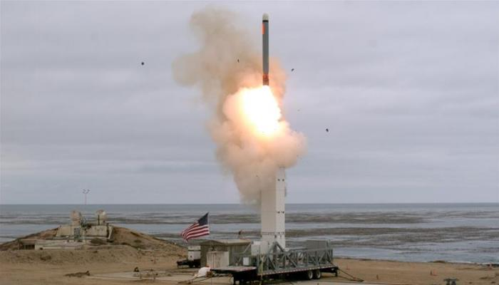 us missile test